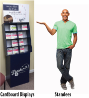 Standee Display for Your Business
