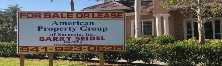 Commercial Real Estate & Construction Signs